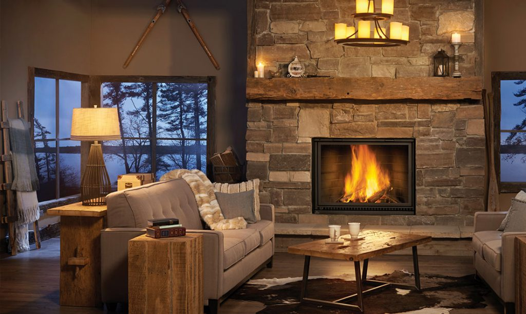 High Country 8000 Fireplace
